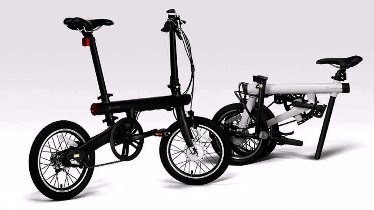 دراجة شاومي ميجيا الكهربائية القابلة للطي