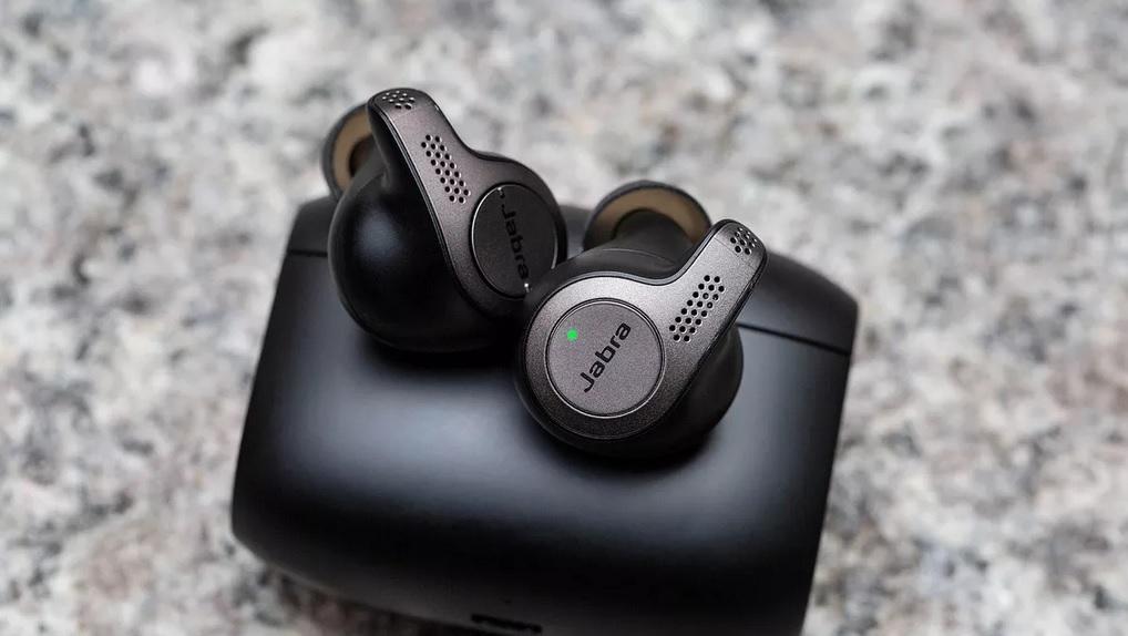 سماعات Earbuds اللاسلكية Elite 65t من شركة Jabra