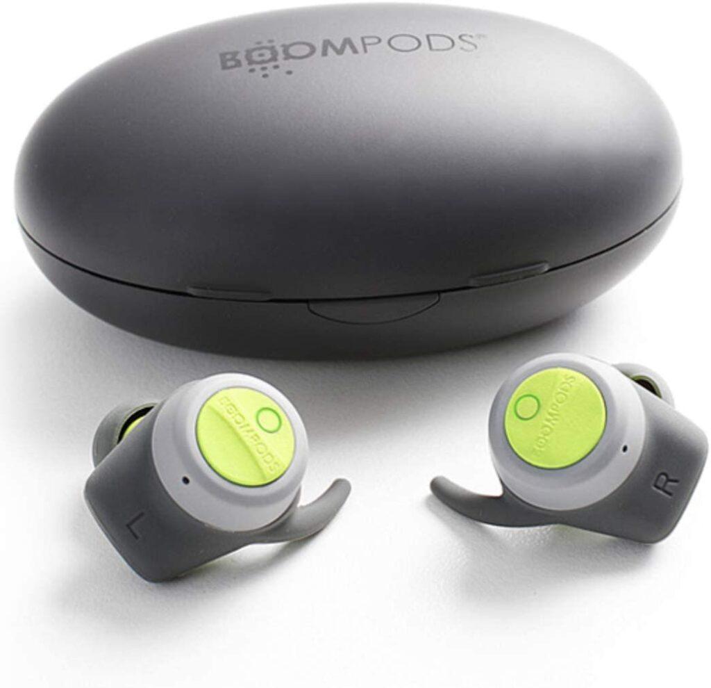 سماعات Earbud لاسلكية فاخرة و أصلية من شركة BOOMPODS