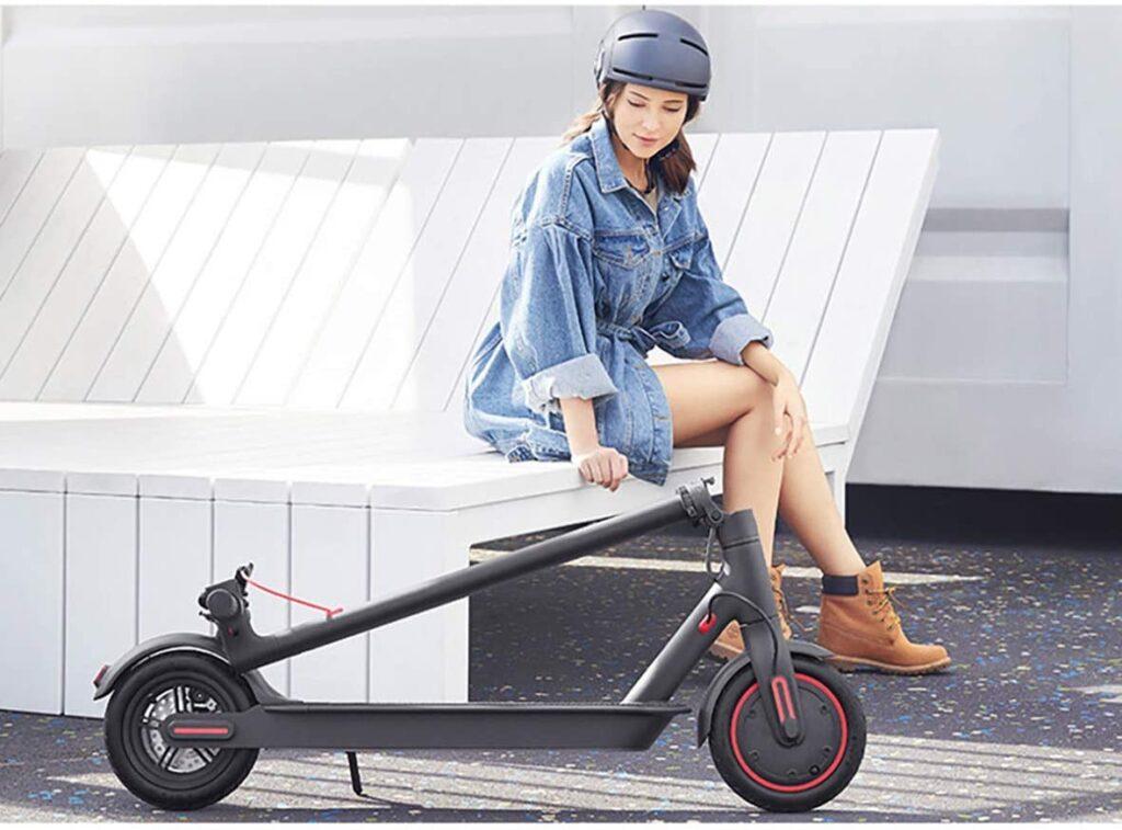 سكوتر كهربائي Mi Pro من شاومي Mi pro electric scooter
