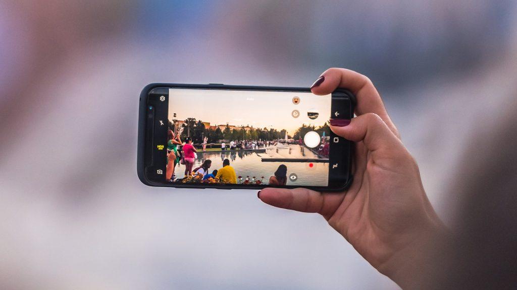 كاميرا الهاتف الذكي