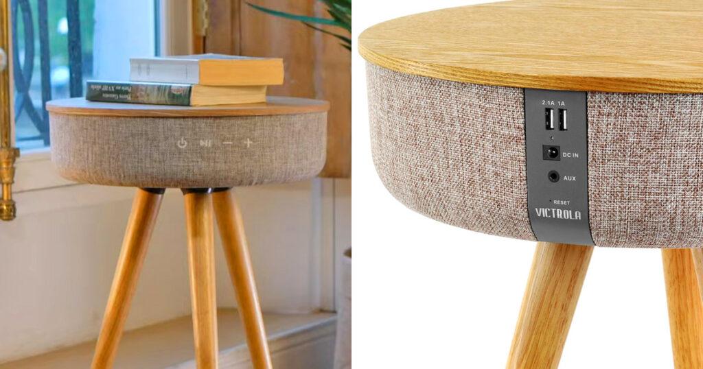 طاولة ذكية خشبية