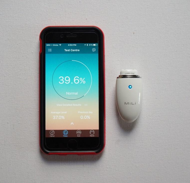 mili-pure-skin-moisture-detector-white