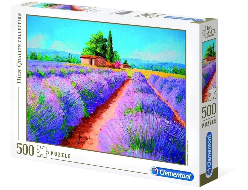 ألعاب اطفال : لعبة تطبيقات 500 قطعة CLEMENTONI – Lavender Scent
