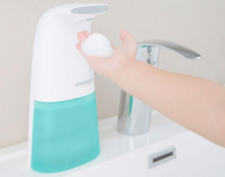جهاز الصابون السائل الأوتوماتيكي - شاومي أهم أدوات المطبخ