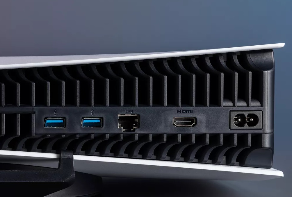 المنافذ وإمكانية التوسع لجهاز PlayStation بلاي ستيشن ps5