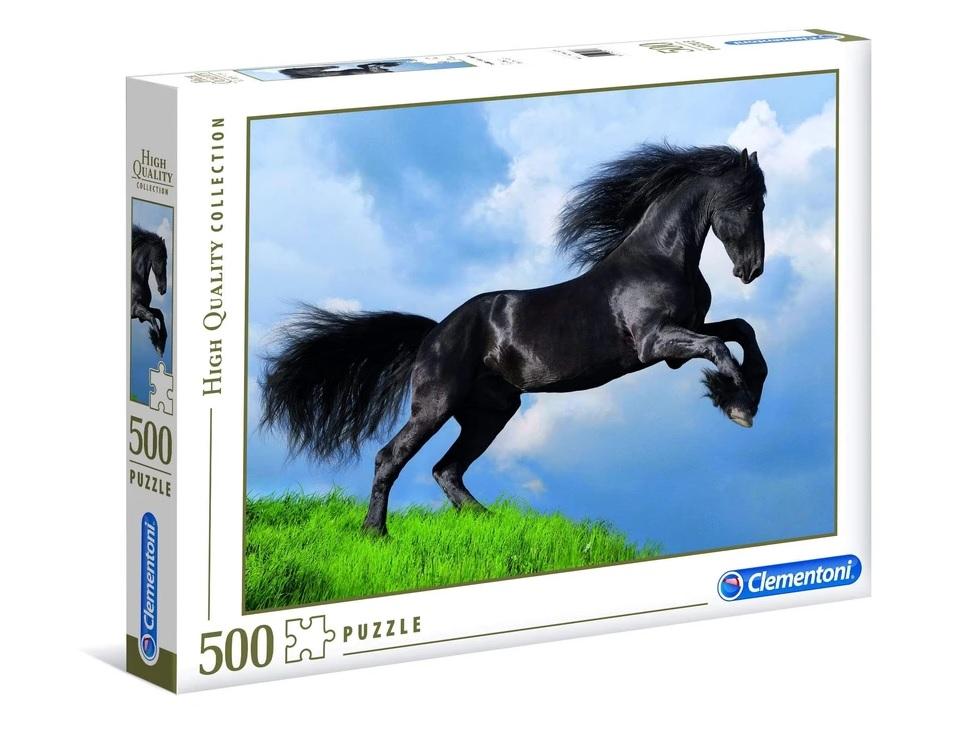 ألعاب اطفال : لعبة تطبيقات 500 قطعة CLEMENTONI – Black Horse