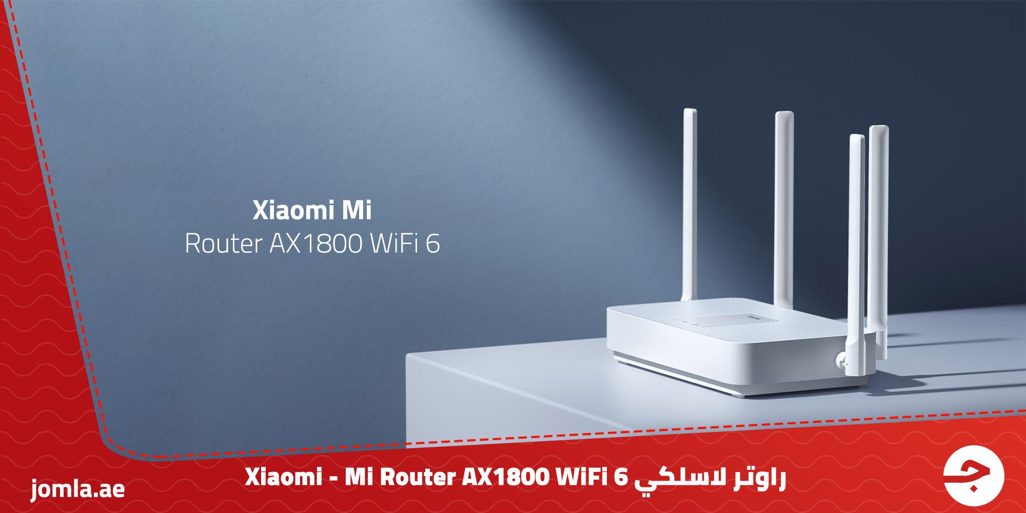 راوتر لاسلكي Xiaomi - Mi Router AX1800 WiFi 6