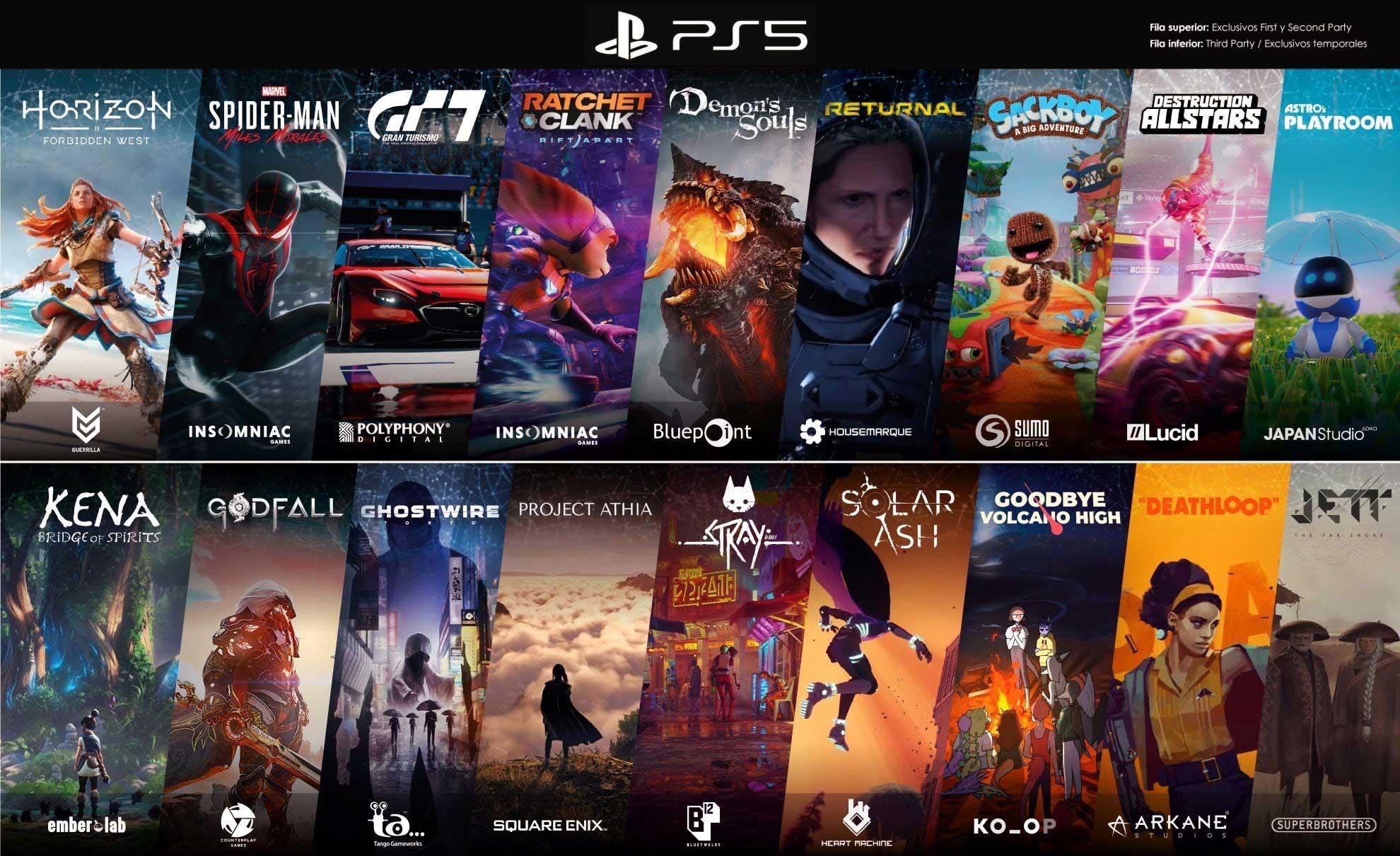 ألعاب PS5