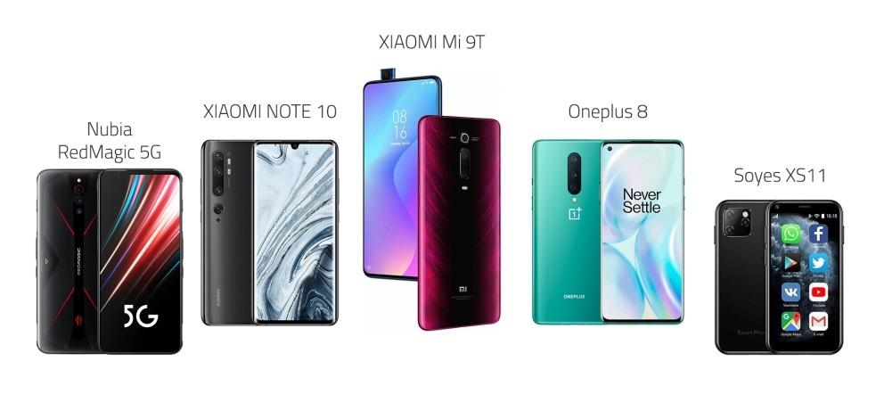 أفضل 5 هواتف ذكية لهذا العام 2020 .. تستحق الشراء