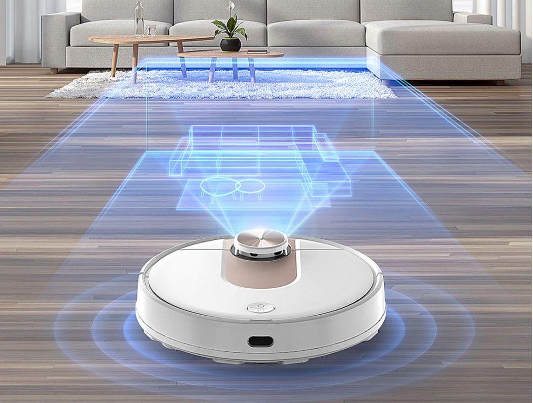 المكنسة الكهربائية الروبوتية Viomi SE وكفاءة التنظيف