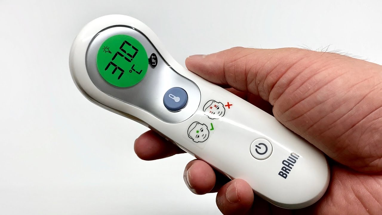 جهاز ميزان حرارة براون بدون لمس وميزات أخرى تعرف عليها