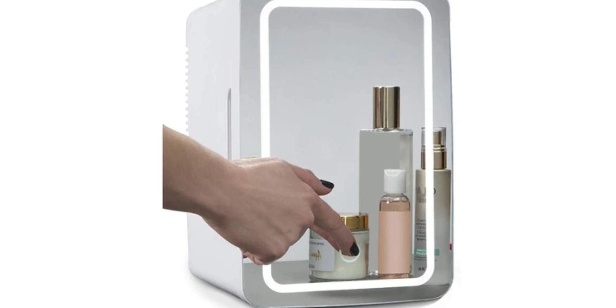 ثلاجة المكياج SUOMO - Compact Refrigerator 8 Liter Beauty Fridge