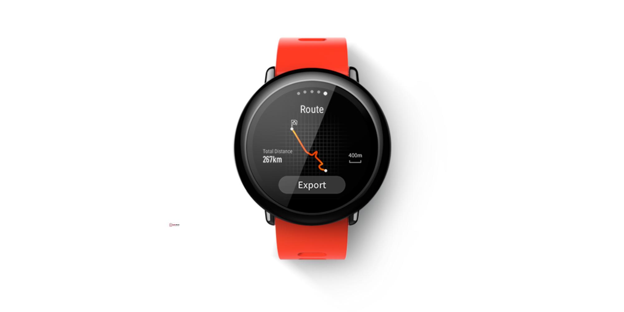 ساعة شاومي الذكية
