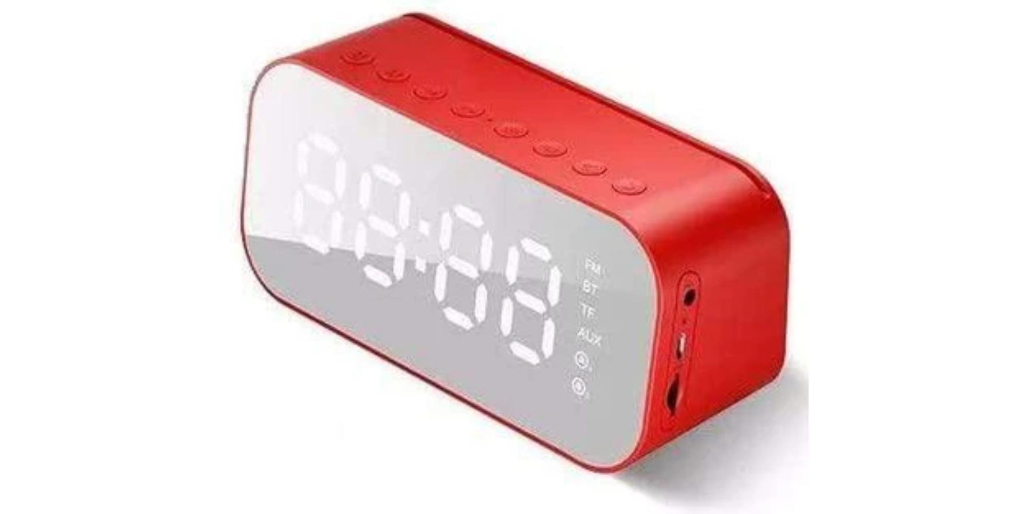 ساعة منبه مع سماعة بلوتوث - مستلزمات شخصية