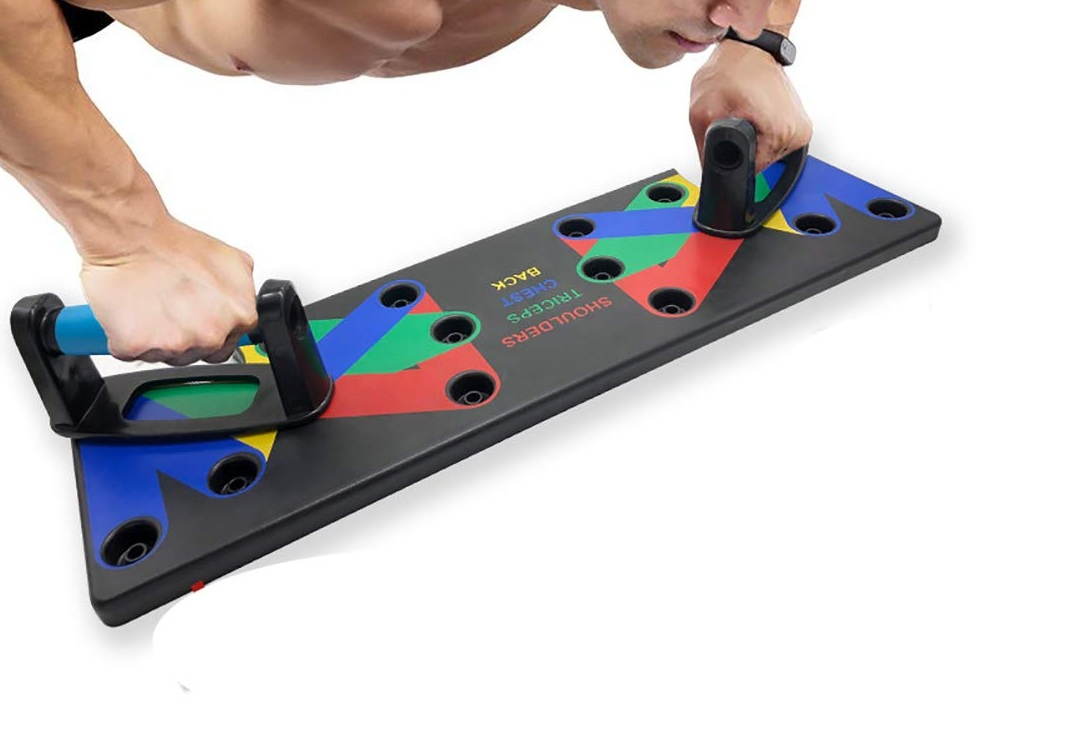 افضل اجهزة رياضية لعام 2020 لوح الرياضة المنزلي متعدد الوظائف Festnight - Household Multifunction Push Up Rack Board Fitness
