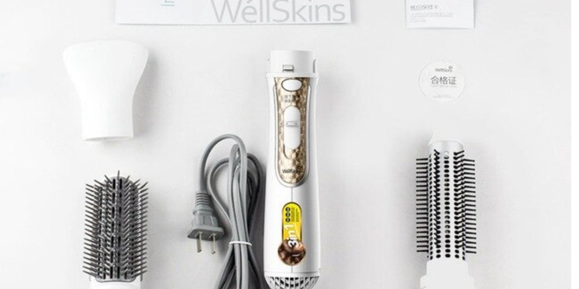 مشط كهربائي لتنعيم الشعر