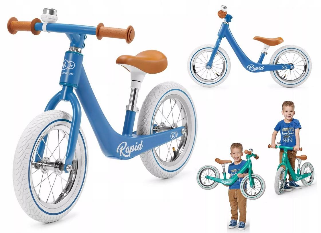 دراجة اطفال بلون أزرق Kinderkraft Balance RAPID