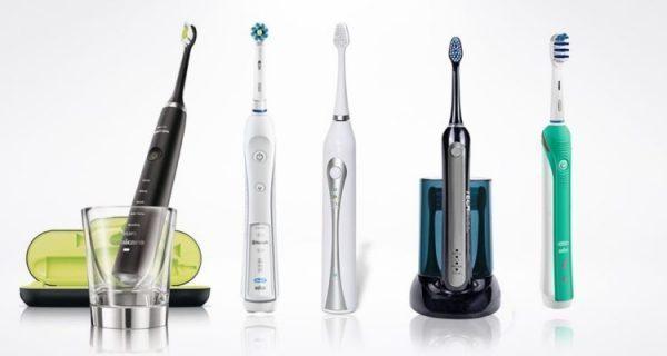 فرش أسنان كهربائية