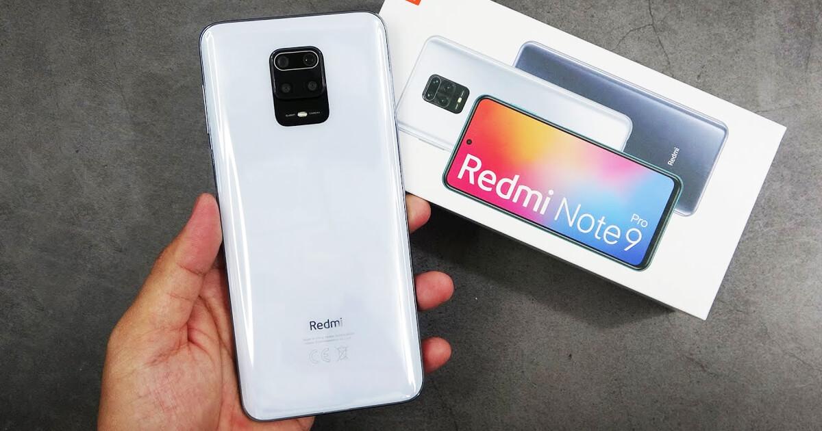 هاتف Redmi Note 9 pro