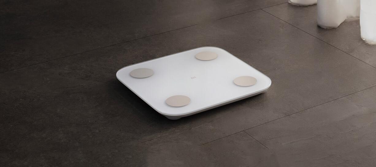 الميزان الذكي من شاومي لتحليل وزن وكتلة الجسم