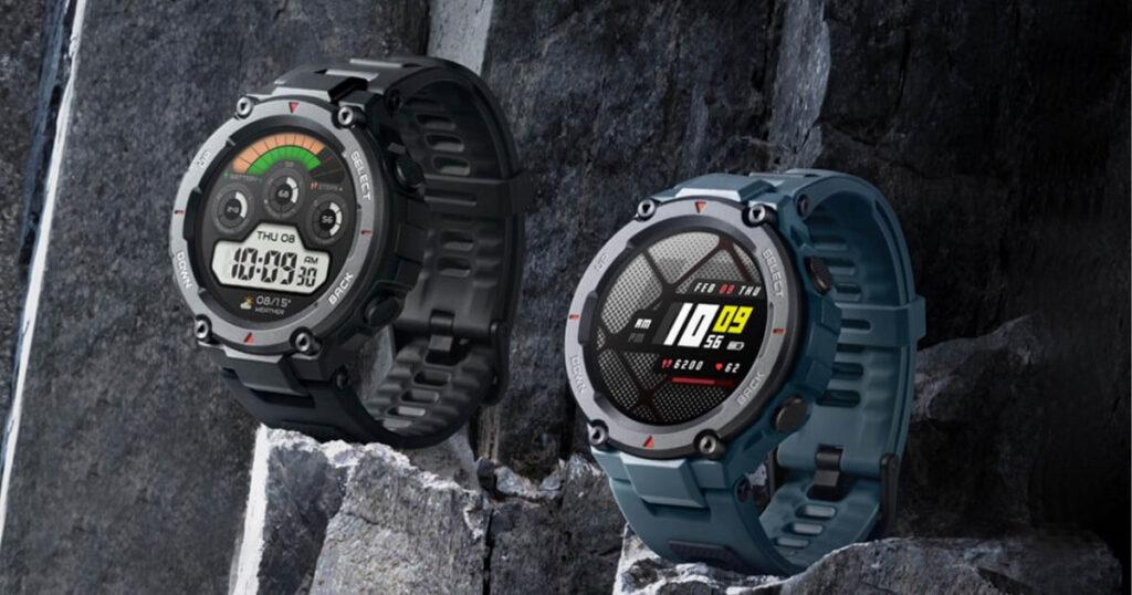 الساعة الذكية Amazfit T-Rex Pro