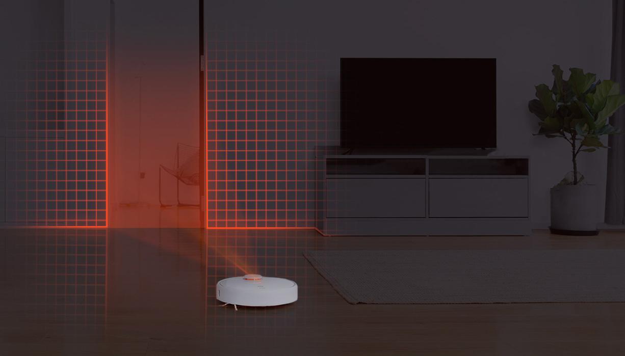 مكنسة Xiaomi Mi Robot Vacuum 1S الكهربائية المحمولة