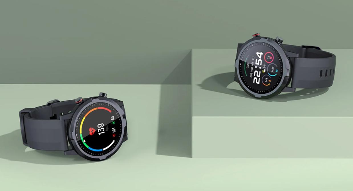 ساعة Haylou RT الذكية بتصميم دائري جميل