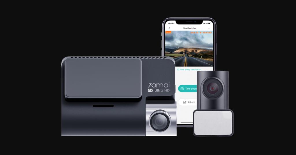 كاميرا السيارات 70mai A800 بدقة 4K من شامي