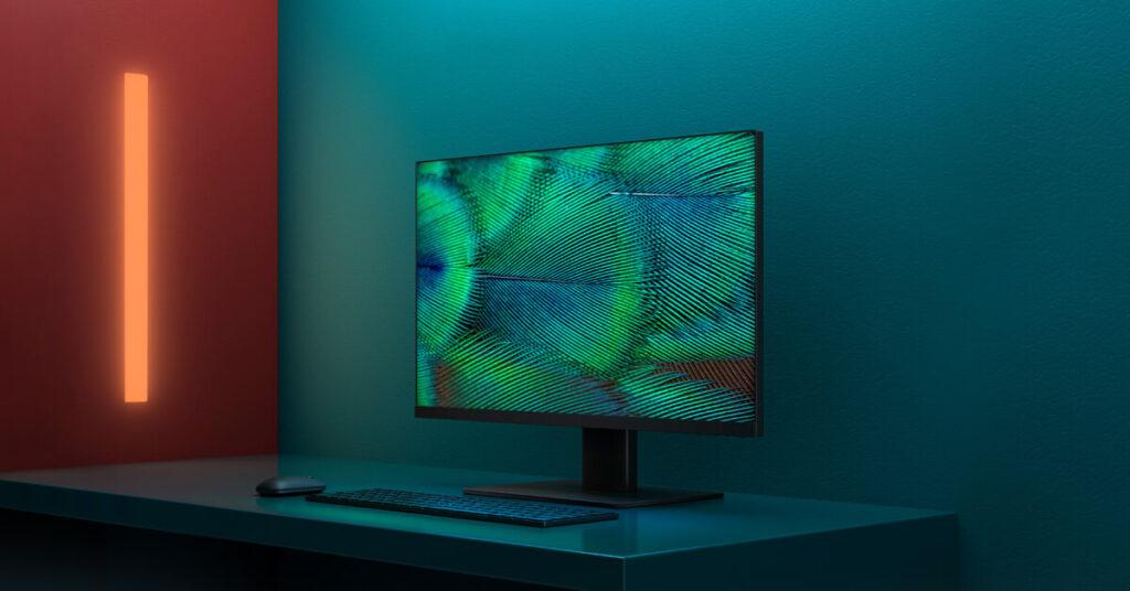 شاشة Xiaomi Mi Desktop Monitor الذكية من شاومي