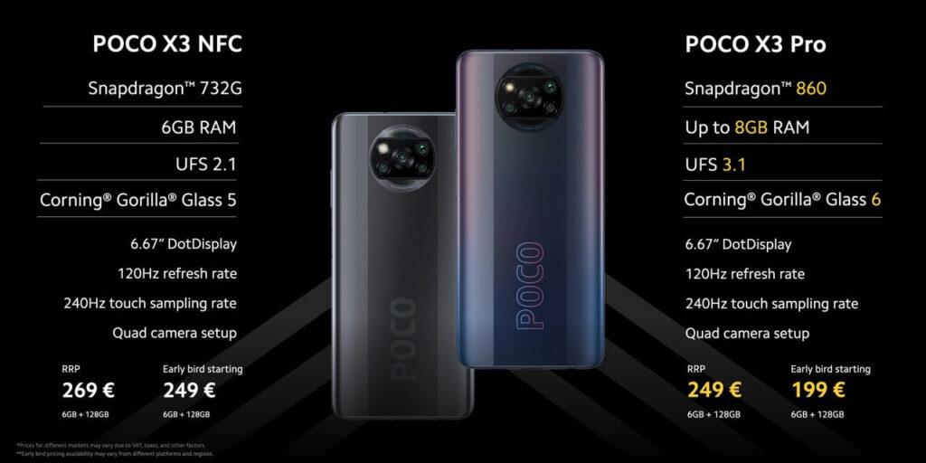هاتف Poco X3 pro الآن مع شاشة Snapdragon 860 و 120 هيرتز