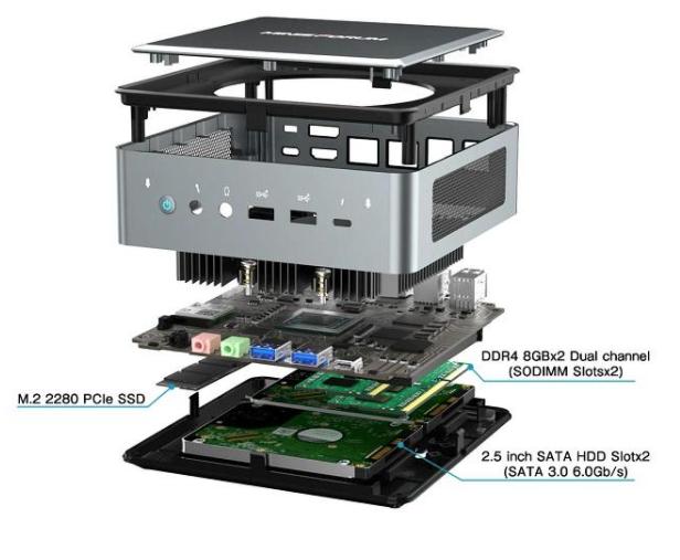 Minisforum HM50 Mini PC
