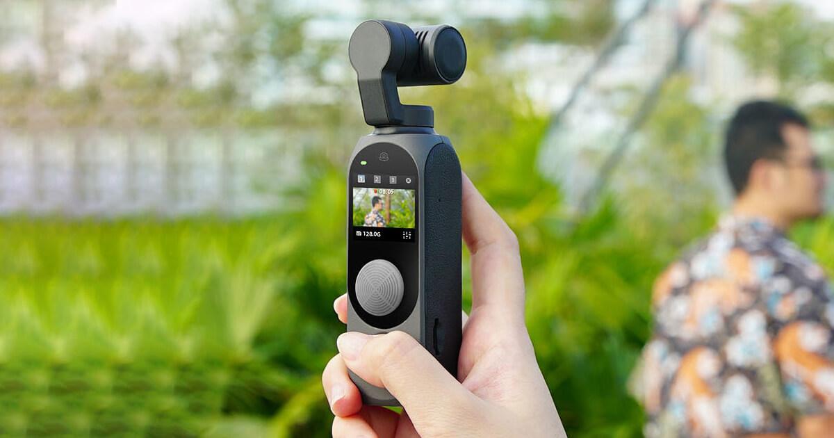 كاميرا Gimbal FIMI PALM 2 بتثبيت ثلاثي الابعاد