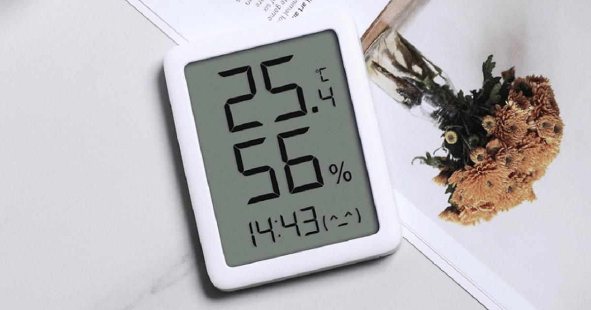مقياس الحرارة Xiaomi Miaomiaoce والرطوبة في شاشة واحدة