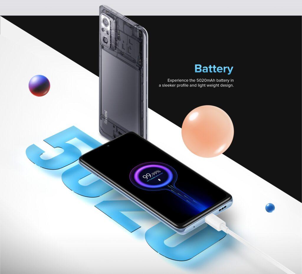 هاتف Redmi Notes 10 Pro بأحدث شاشة Super AMOLED