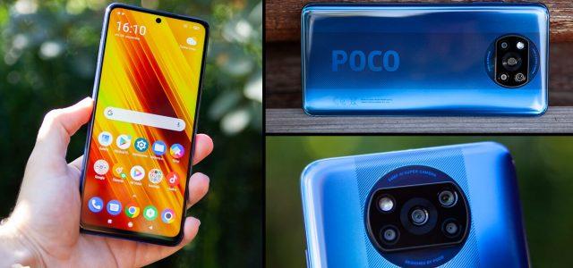 الهاتف الذكي POCO X3 NFC ذو الشاشة الرائعة من الشركة الصينية