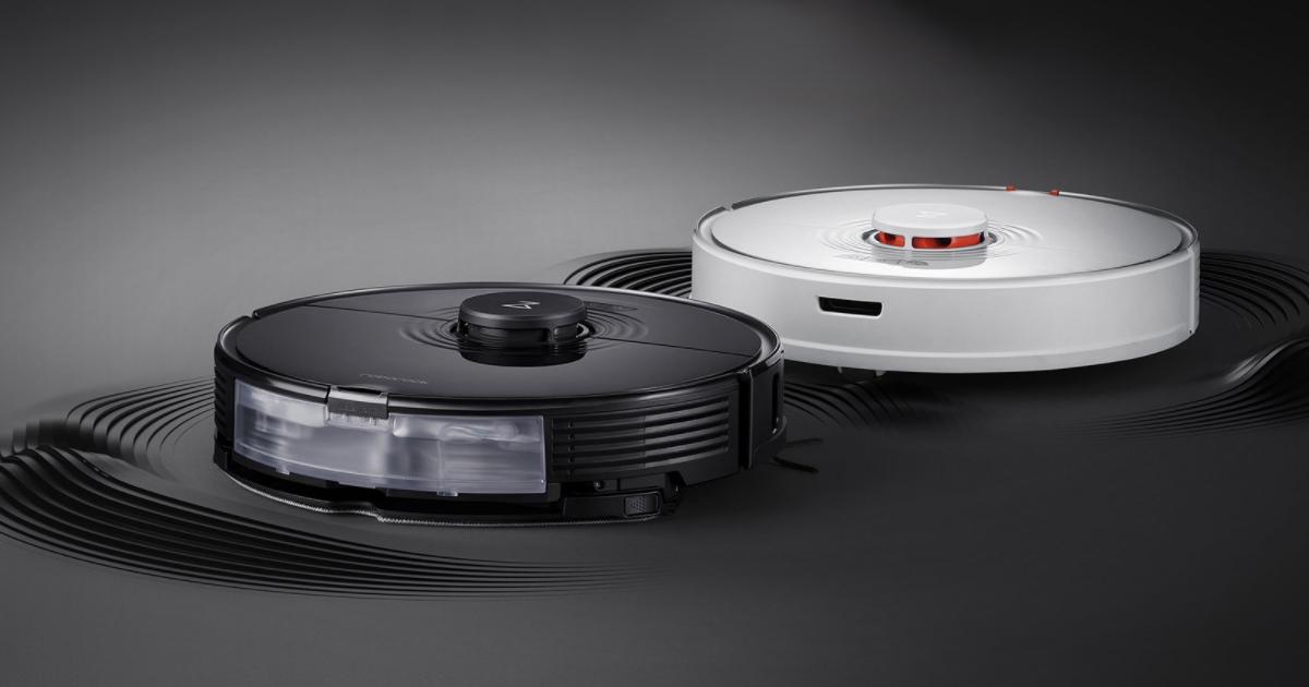 المكنسة الكهربائية الروبوتية Roborock S7 ذات النظام الصوتي من شاومي