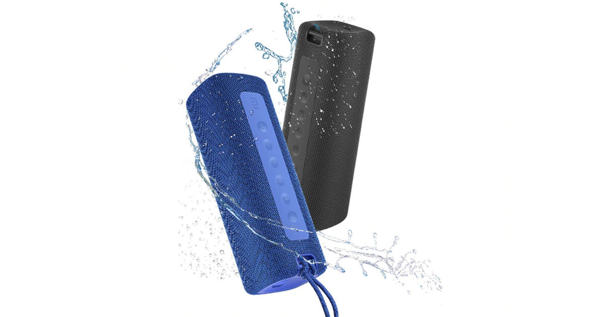 مكبر صوت Xiaomi Mi Portable Bluetooth المقاوم للماء