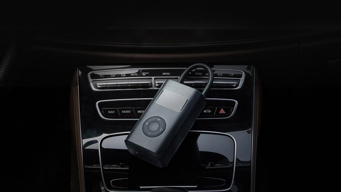 مضخة الهواء Mijia Xiaomi Mi المحمولة وضغط 10 بار