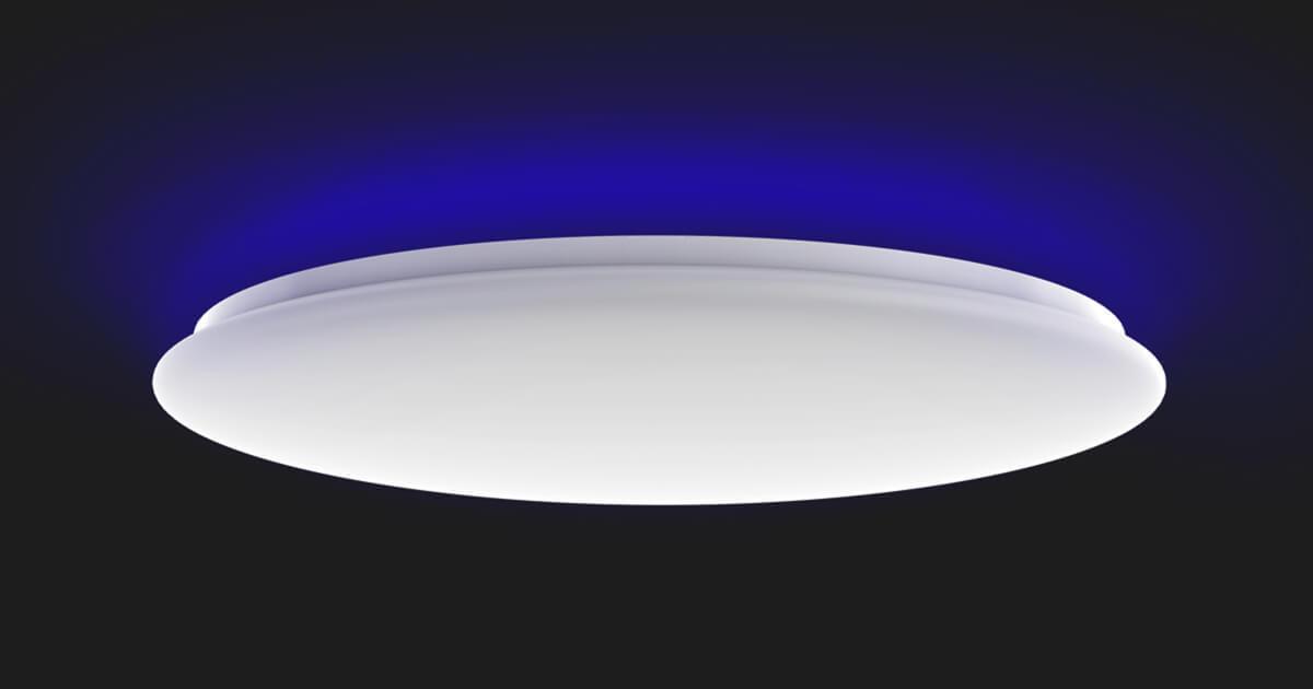 أحدث مصباح سقف Yeelight Arwen C ذكي عالمي مع الإضاءة الخلفية