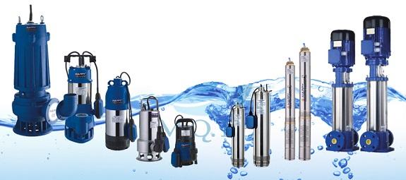 أنواع مضخات مياه كهربائية