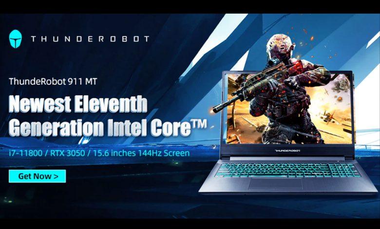 كمبيوتر محمول THUNDEROBOT 911MT