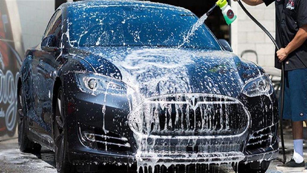 مضخات غسيل السيارات