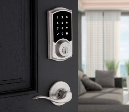 أنواع أقفال الأبواب الذكية