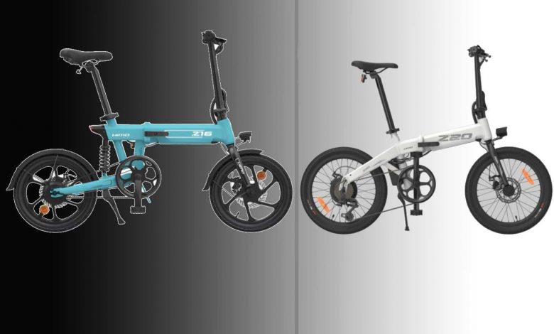 أيهم أفضل دراجة كهربائية HIMO Z16 vs HIMO Z20 لعام 2021