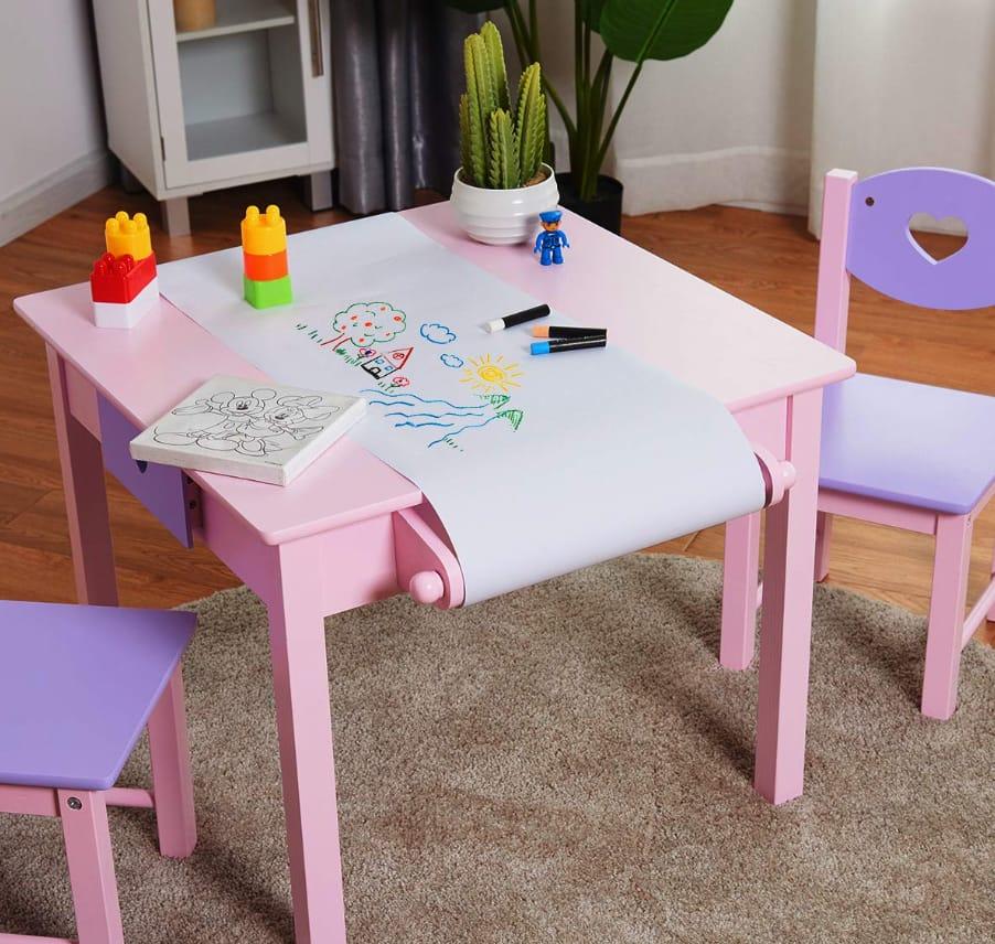 أشكال وأنواع طاولة رسم للأطفال