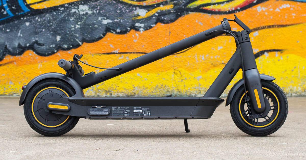سكوتر Ninebot MAX G30 القوي من شاومي يصل لمدى 65 كيلو متر