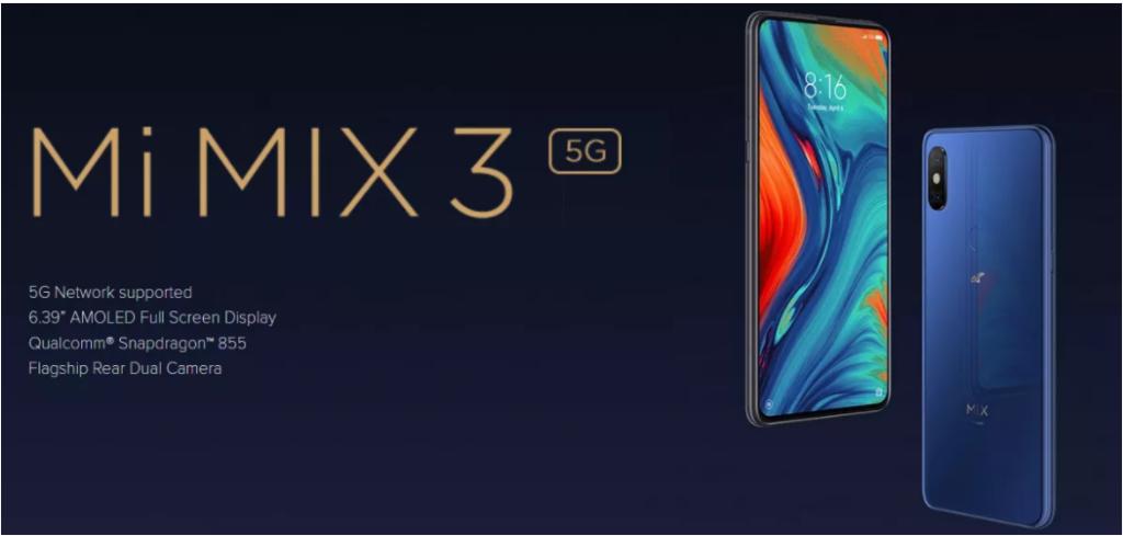هاتف مكس Xiaomi MI 3 5G