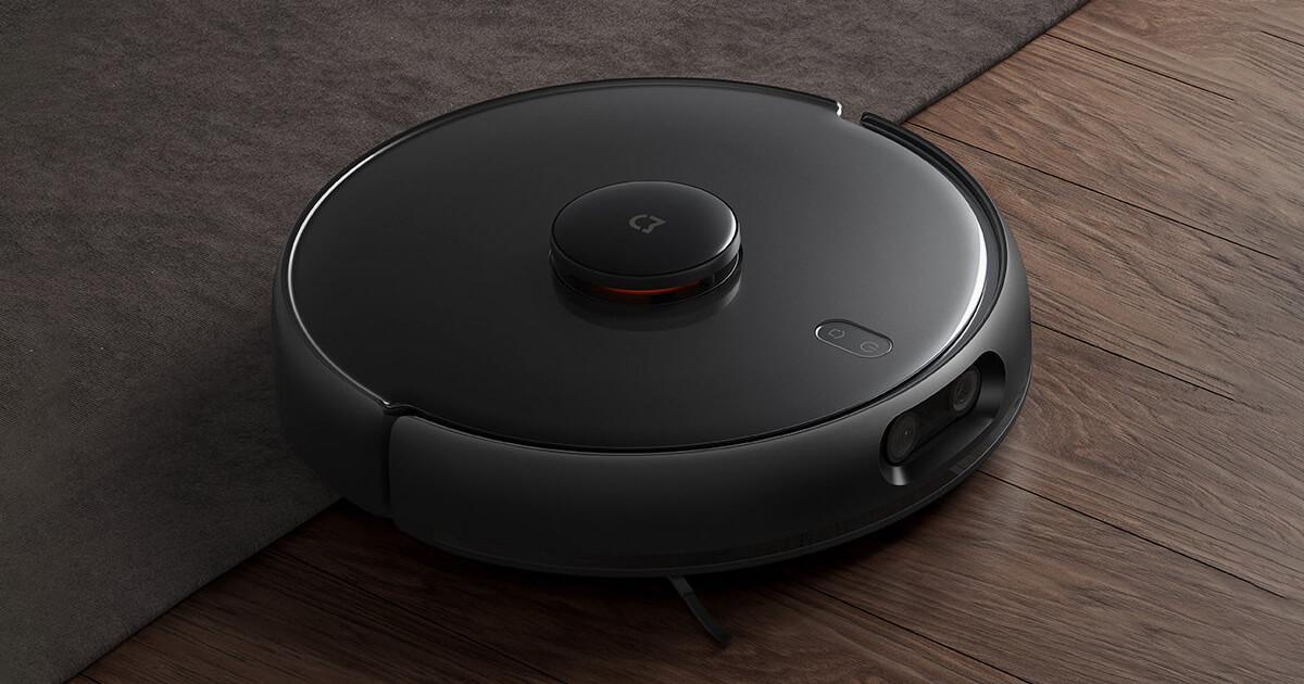 مكنسة My Robot Vacuum Mop Pro بقوة شفط 4000 باسكال من شاومي