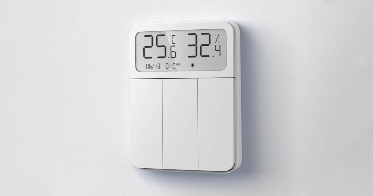 مفتاح درجة الحرارة الذكي لقياس الرطوبة من الشركة الصينية Xiaomi